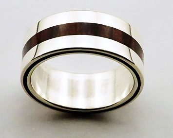 bague 6 en, wedding rings, rings, precious wood, silver ,gold, designer rings, designer wedding rings, Pierre vanherck