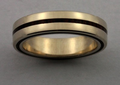 bague 12 en, wedding rings, rings, precious wood, silver ,gold, designer rings, designer wedding rings, Pierre vanherck