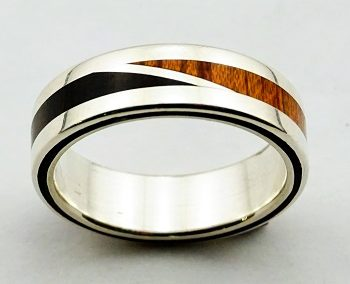 bague 37 en, wedding rings, rings, precious wood, silver ,gold, designer rings, designer wedding rings, Pierre vanherck