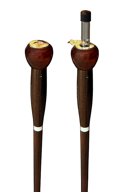 cane, luxury cane, prestige cane, custom cane, designer cane, contemporary cane, art object, walking stick, luxury walking stick, Pierre Vanherck