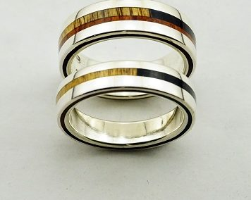 bague 42 en, wedding rings, rings, precious wood, silver ,gold, designer rings, designer wedding rings, Pierre vanherck